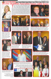Invisible Disabilities Association honors visible heroes. The Villager Newspaper. Scottie Taylor Iverson. 11-14-13