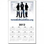 Invisible No More Team Calendar