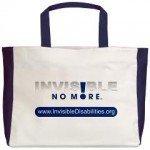 Invisible No More Beach Tote Bag