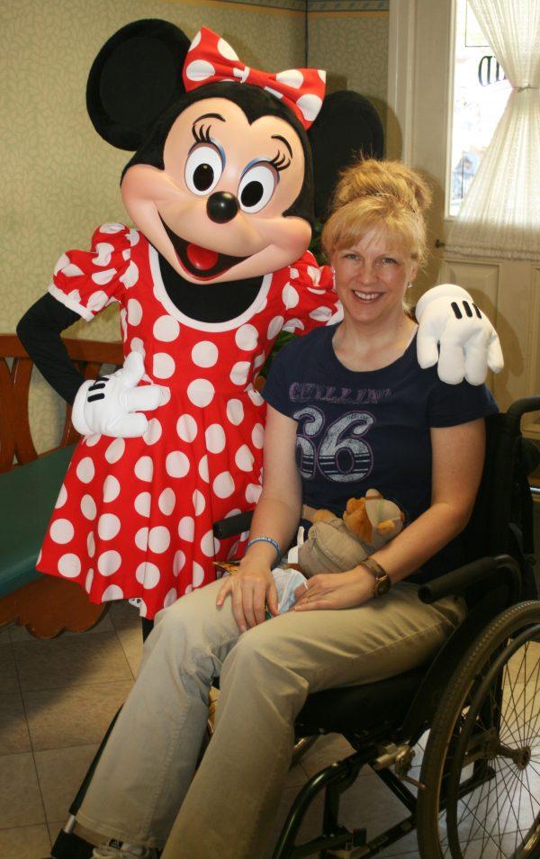 Sherri with Minnie