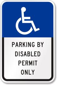 Disabled Permit Only