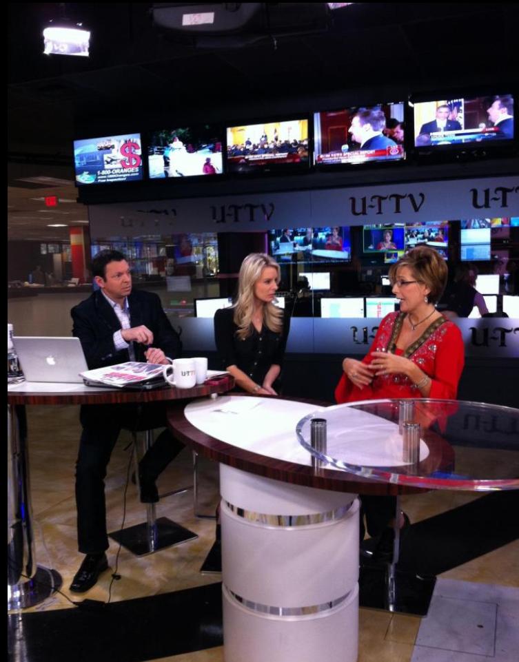 Angela Pierce TV Interview