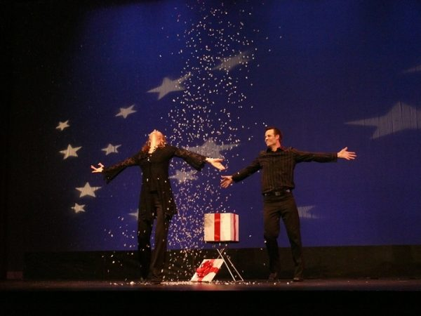 Illusionists, David and Teesha Laflin