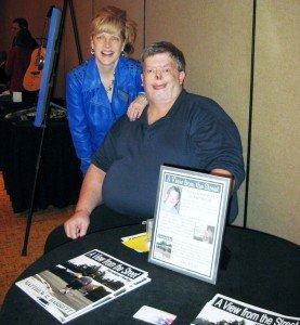Matt Barrett and Sherri Connell, wife of IDA Founder