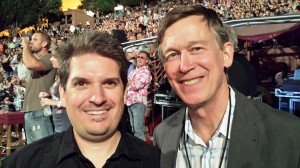 IDA Founder and President, Wayne Connell with Colorado Governor Hickenlooper