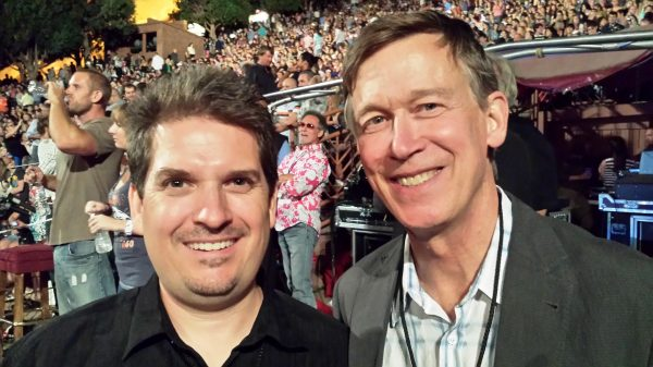 Wayne Connell and Governor Hickenlooper