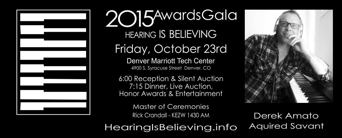 2015 IDA Awards Gala – Hearing is Believing