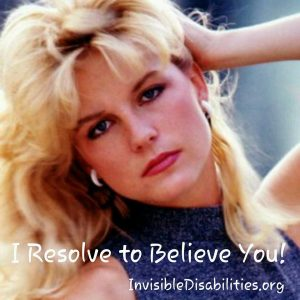Resolve to Believe Sherri