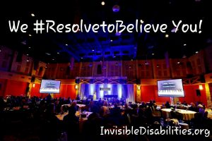 Resolve to Believe Stage
