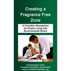 Creating a Fragrance Free Zone Pamphlet  25-Pack Product for sale Invisible Disabilities Association
