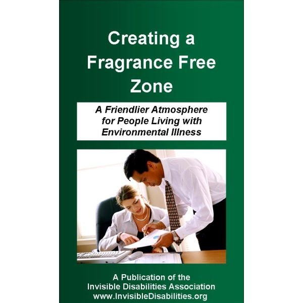 Fragrance-Free Zone Pamphlet Supports Talk About Chemical Sensitivities - 25 Pack