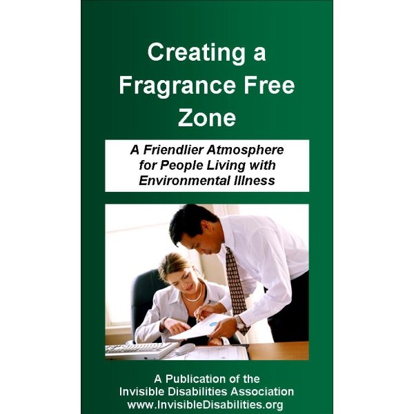 Creating a Fragrance Free Zone Pamphlet 25 Pack Invisible – Free Pamphlet