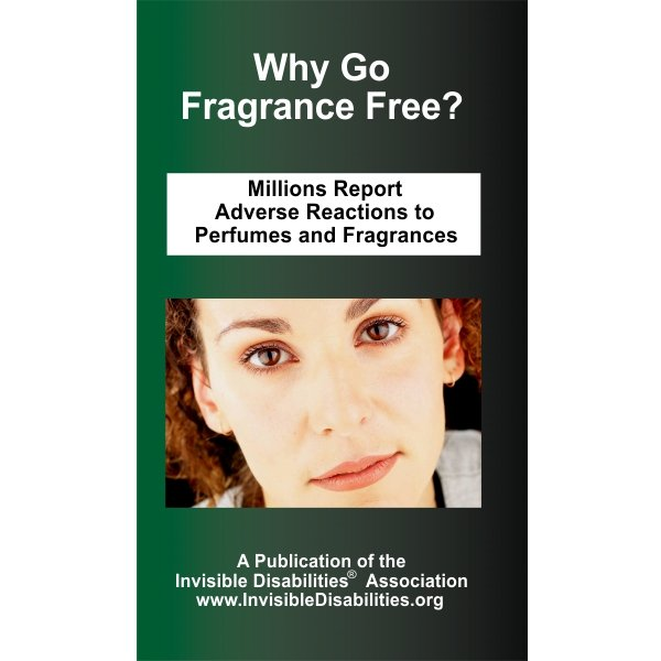 Why Go Fragrance Free  25-Pack Product for sale Invisible Disabilities Association
