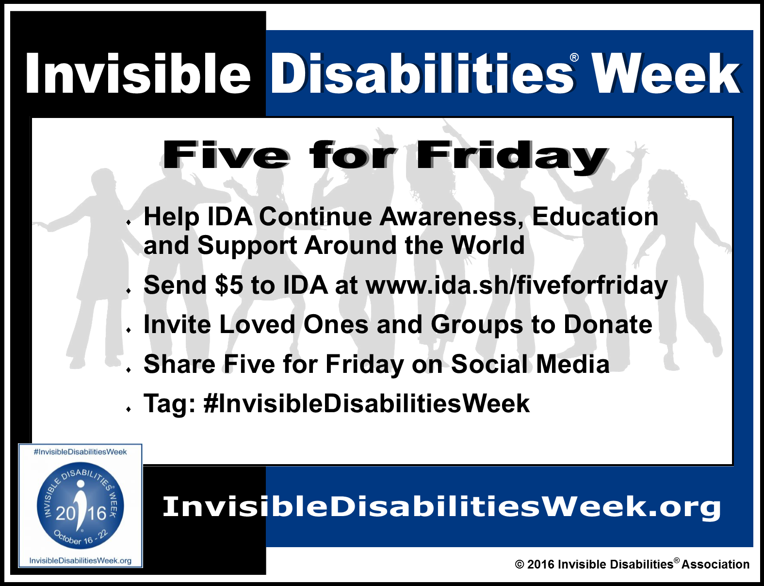 Invisible Disabilities Week 10-16 thru 10-22
