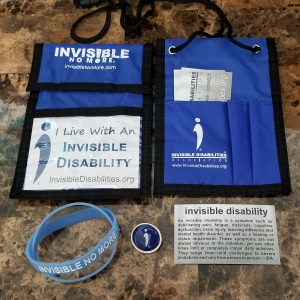 Invisible Disability Week ID Bundle ID Badge Wallet