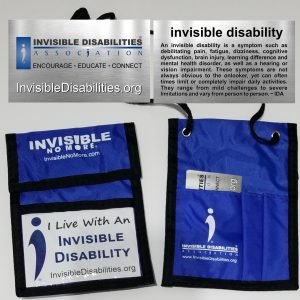Disabilities ID Badge Wallet