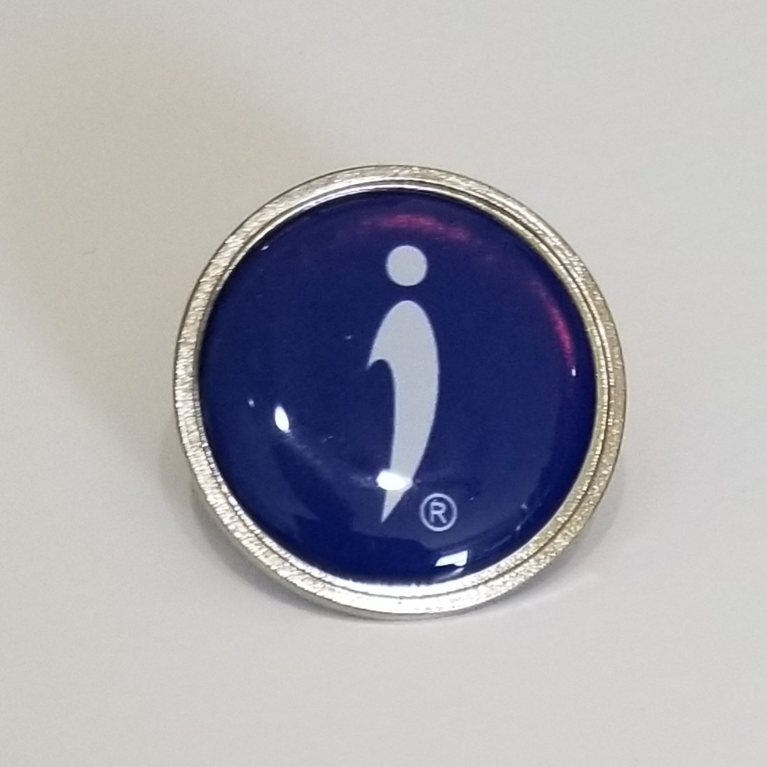 Conversation starter products include lapel pin