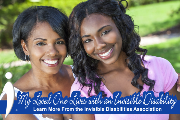 Invisible Disabilities Assoc Facebook Frame - My Loved One Lives with