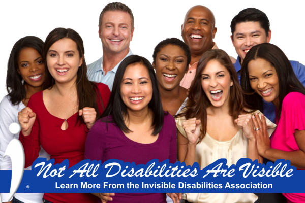 Invisible Disabilities Assoc Facebook Frame - Not All Disabilities Are Visible Friends
