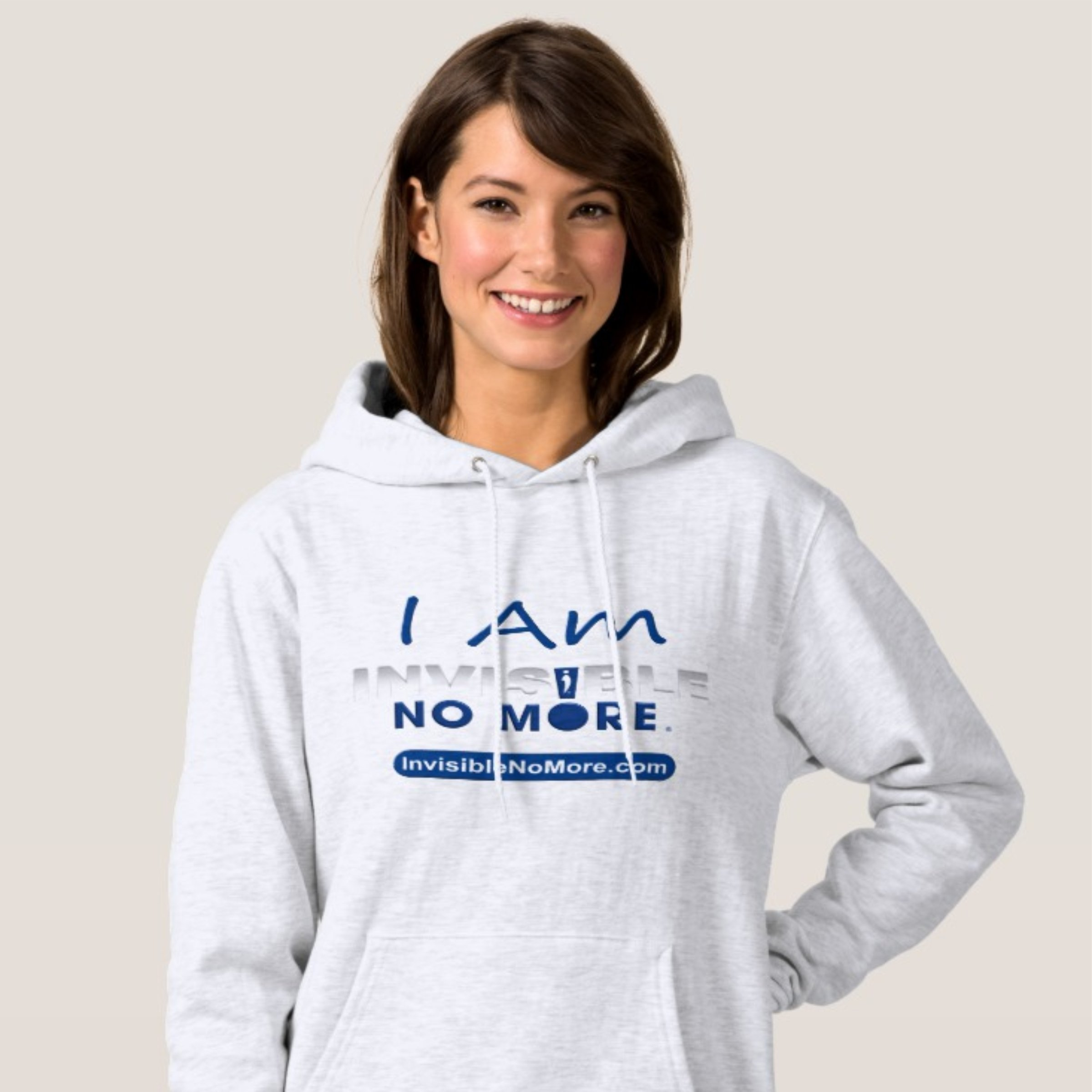I Am Invisible No More Women's Hoodie Sweatshirt