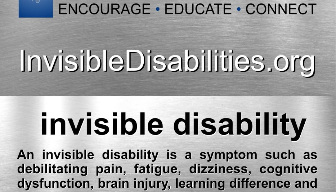 Invisible Disability Definition Card - 250 Pack