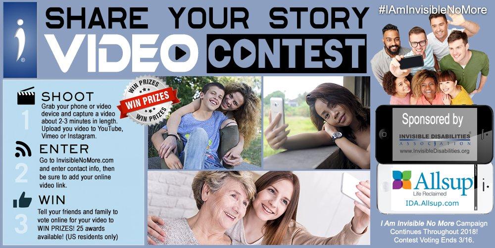 I Am Invisible No More Video Contest
