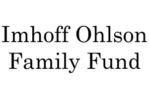 Imhoff Ohlson Family Fund -  2019 Awards Gala - IDA Sponsor - Invisible Disabilities Association