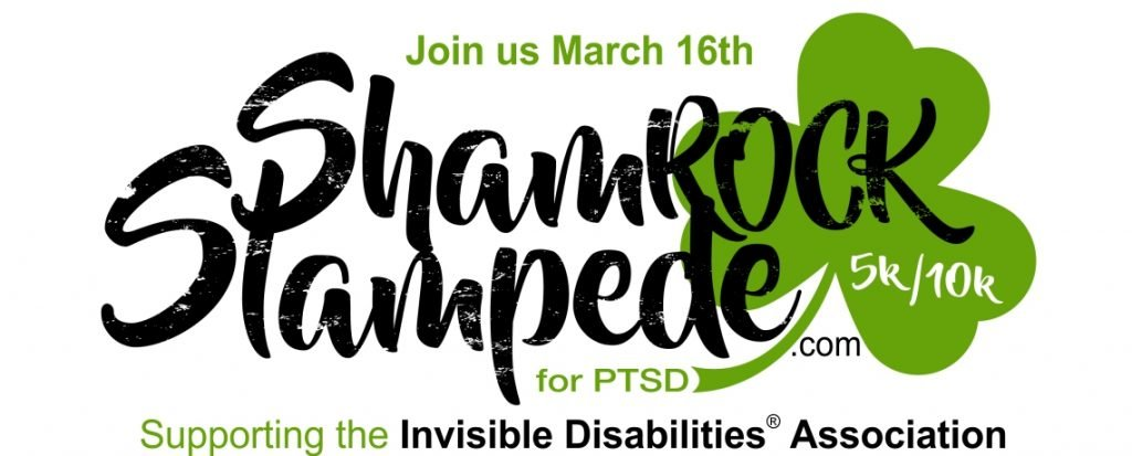 ShamROCK Stampede 5K 10K for PTSD March 16 2019 Castle Rock Colorado and Invisible Disabilities Association