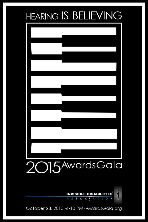 2015 Awards Gala - Hearing is Believing - Invisible Disabilities Association