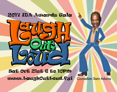 2017 Awards Gala - Laugh Out Loud - Invisible Disabilities Association
