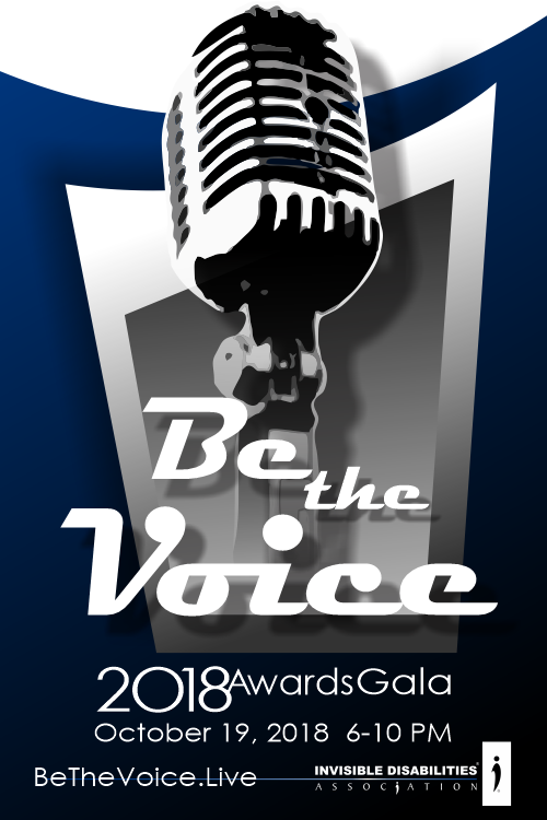2018 Gala - Be The Voice - Invisible Disabilities Association