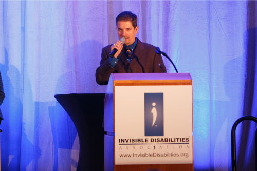 Wayne Connell - IDA CEO -Speaking - Invisible Disabilities Association