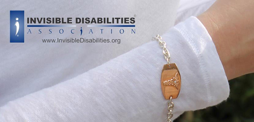 American Medical ID engraved medical jewelry and Invisible Disabilities Association