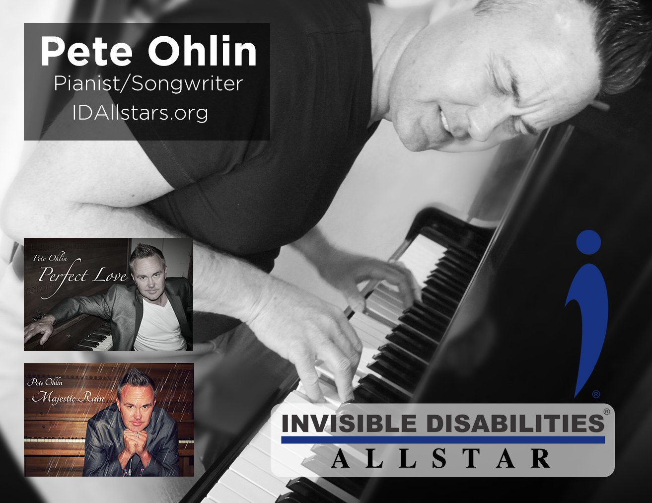 Pete Ohlin Invisible Disabilities Allstar