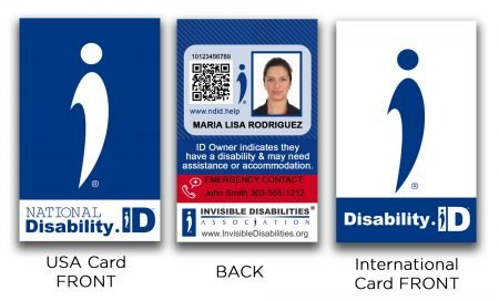 National Disability ID Card - International Disability ID - Invisible Disabilities Association