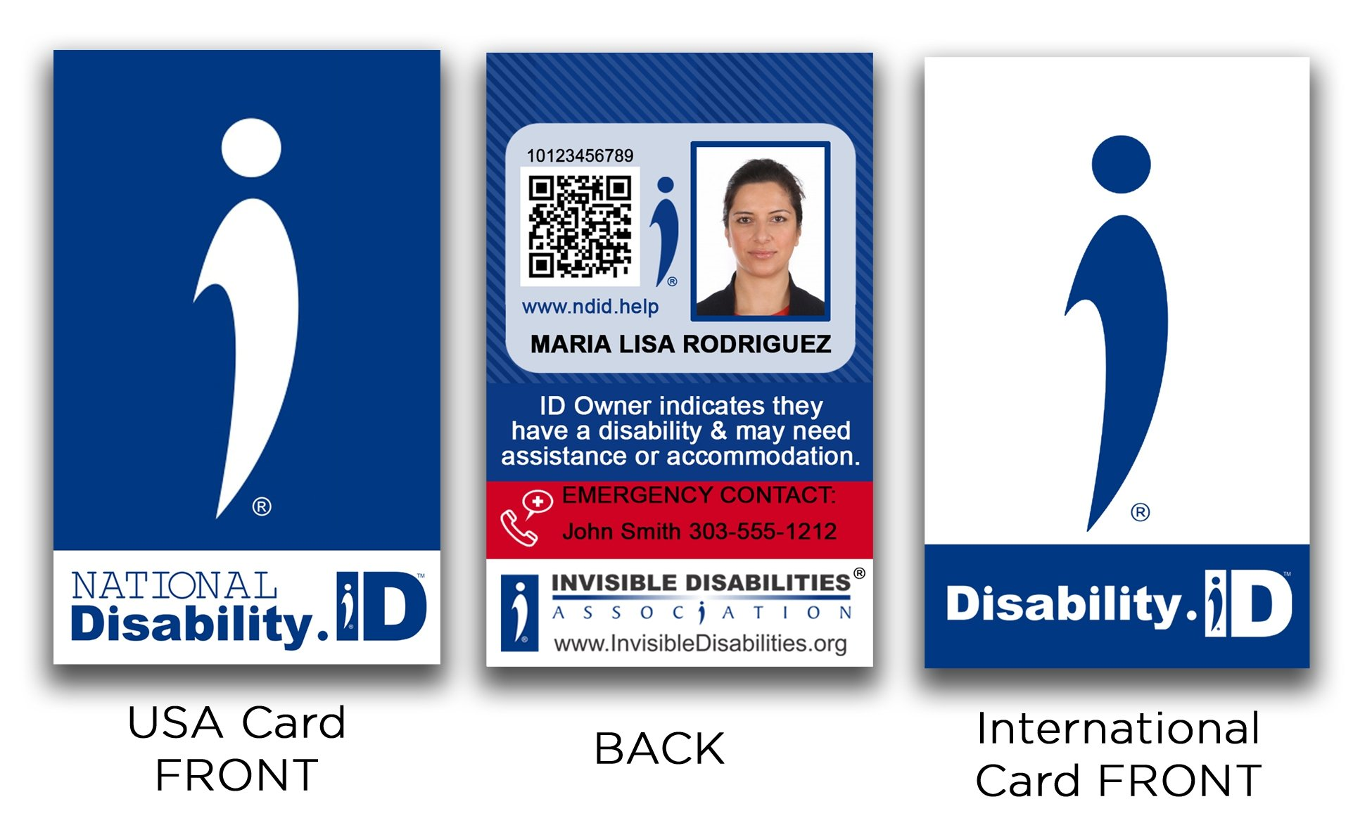 National Disability ID Card and International Disability ID Card