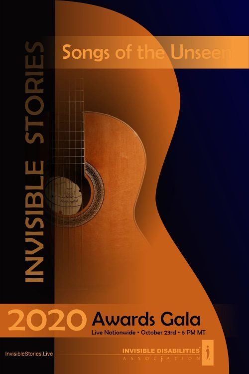 2020 Gala - Invisible Stories - Songs of the Unseen - Invisible Disabilities Association