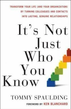 It's Not Just Who You Know by Tommy Spaulding - Love IDEAS Summit – Invisible Disabilities Association