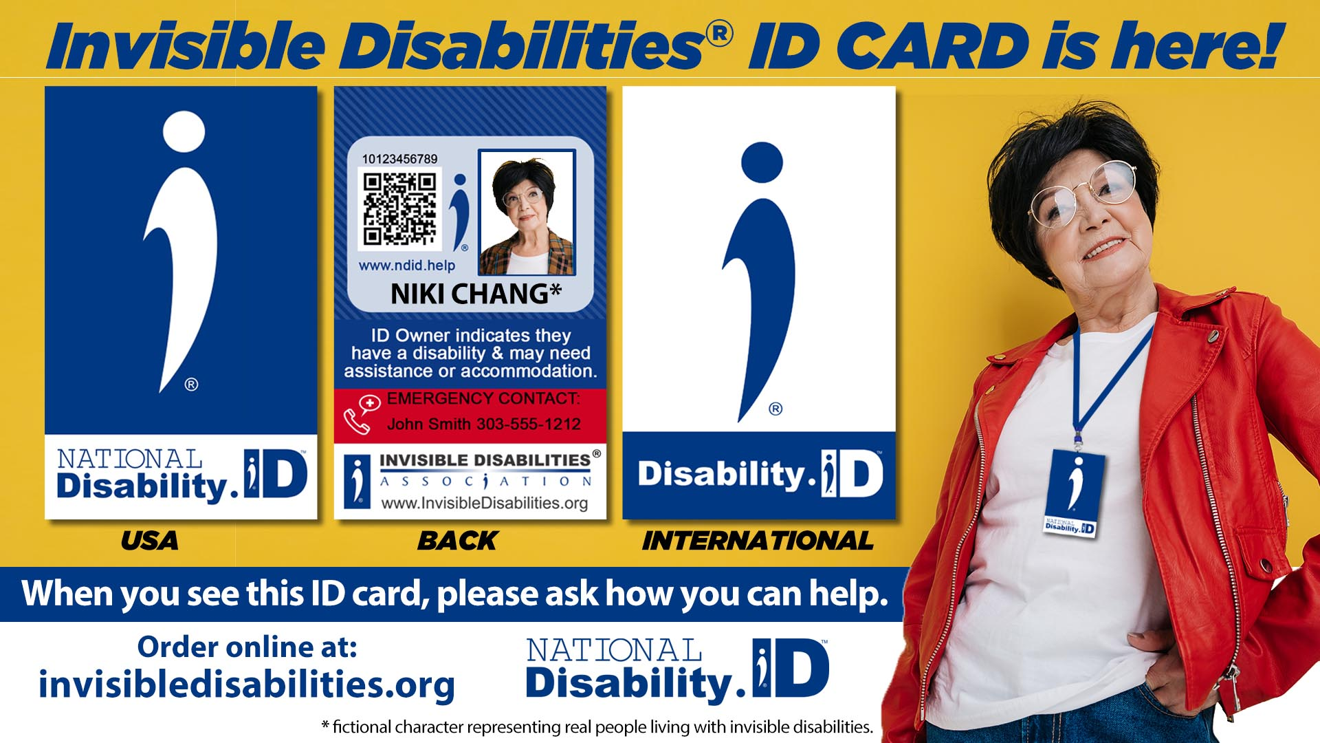National Disability ID Card - Invisible Disabilities ID Card Introduction - Invisible Disabilities Association