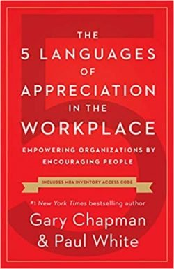 5 Languages of Appreciation in the Workplace - Gary Chapman and Paul White - Love IDEAS Summit - Invisible Disabilities Association