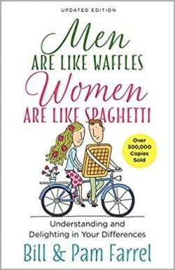 Men are Like Waffles Women are Like Spaghetti by Bill and Pam Farrel - Love IDEAS Summit – Invisible Disabilities Association