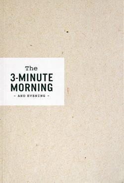 3-Minute Morning Journal by Michael S Sorensen - Love IDEAS Summit - Invisible Disabilities Association