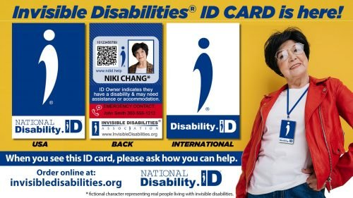 Disability ID Card - National Disability ID initiative - Invisible Disabilities Association