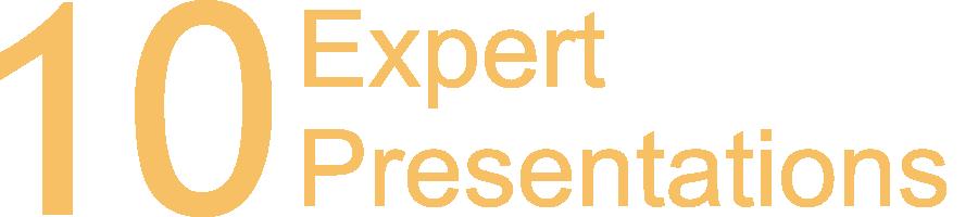 10 Expert Presentations