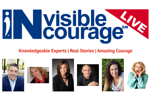 InVisible InCourage LIVE Podcast - Invisible Disabilities Association Program