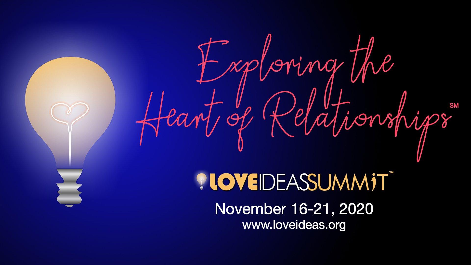 Love IDEAS Summit Nov 16 -21 2020 - Invisible Disabilities Association