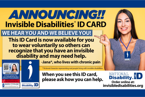 National Disability ID Card - Invisible Disabilities Association