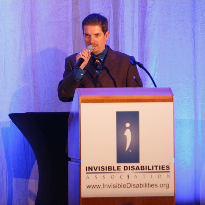 Wayne Connell CEO Speaking - Invisible Disabilities Association