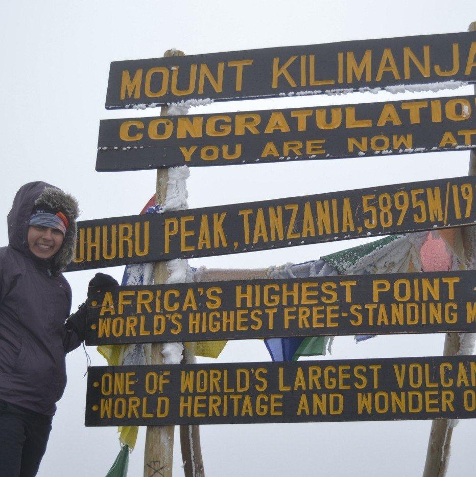 Sneha Dave - Mt Kilimanjaro - Invisible Disabilities Association Ambassador